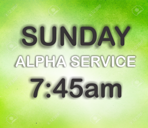 sunday alpha service